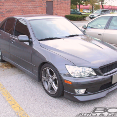 IS300 Greddy front lip 2